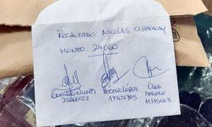 Coronel Pringles: perdió su primer sueldo y los vecinos le juntaron 24.000 pesos
