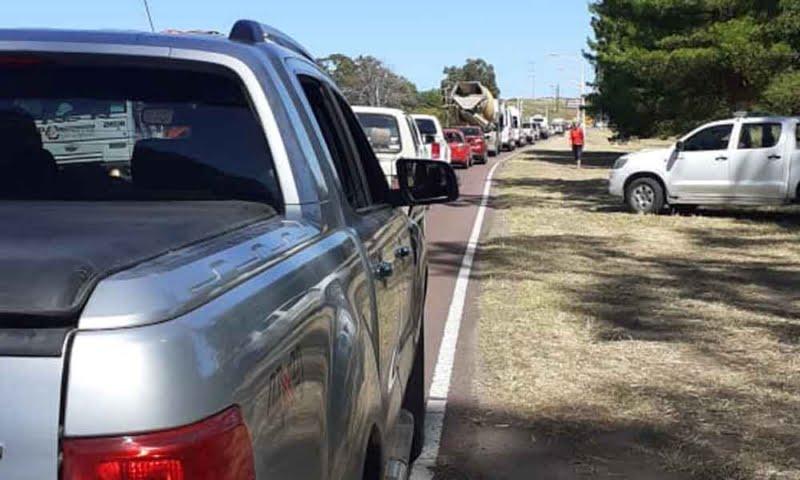 """Alerta en Monte Hermoso: un audio viral convoca a entrar """"de prepo"""" y en caravana"""