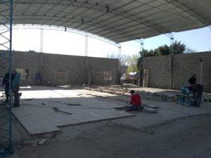 Satisfacción del ex concejal vecinalista José Dam con la obra del gimnasio de Orense