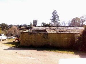Arreglaron el techo de la Administración del Vivero de Claromecó