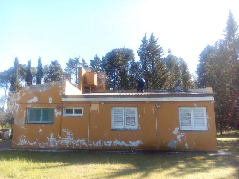 Claromecó: Refaccionan la residencia municipal en el Vivero