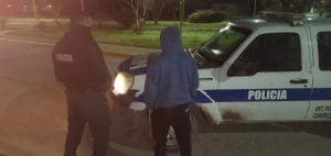 Joven herido de arma blanca en Chaves