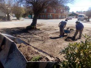 Se llevan a cabo distintas obras  en Claromecó