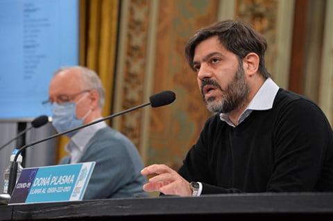 Bianco y Gollán dieron un nuevo parte epidemiológico: sólo 18 distritos en fase 5