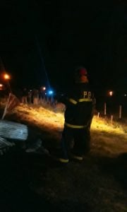 Se incendió un galpón en Juan E. Barra (videos)