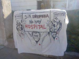 21S: enfermeros tresarroyenses hicieron oír su reclamo (videos)