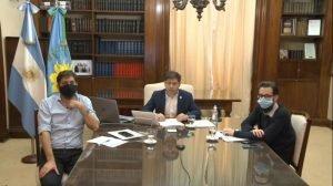 Distritos de la zona firmaron convenios con Kicillof por obras de infraestructura