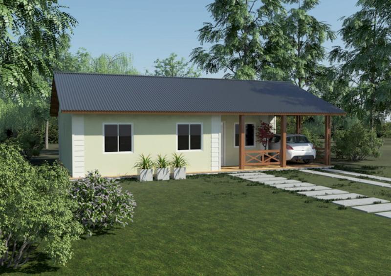 Viviendas Alegretti y la posibilidad de tener rápidamente el techo propio