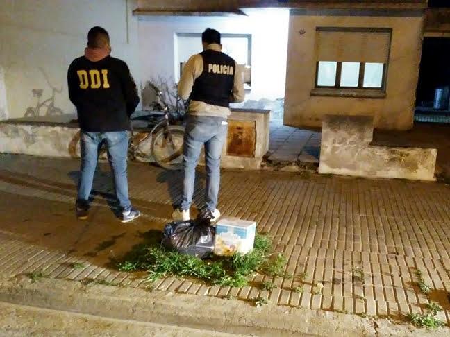 Allanaron vivienda por los robos de calle Larrea