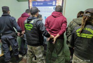 Operativos antidroga: las personas aprehendidas se negaron a declarar ante el fiscal