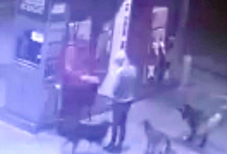 Así fue el asalto esta madrugada a la Axion de la 228 (Video)