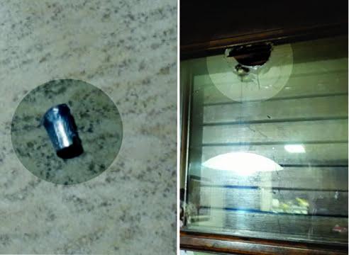 El balazo que terminó en una vivienda de calle Berutti, era calibre 38