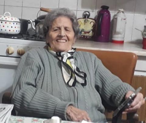 """La """"señorita"""" Alicia Besse: tiene 92 años y hermosos recuerdos de los picnic de Primavera"""