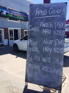 La risa es el mejor marketing, hasta para vender carne