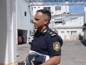 Llega a Tres Arroyos el jefe interino de la Superintendencia Sur de la Policía Comisario Cheppi