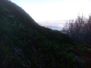 Otra jornada fría en Claromecó