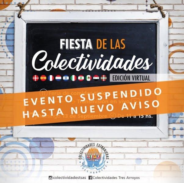 Posponen la Fiesta de las Colectividades edición virtual