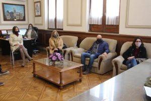 Sánchez se reunió con integrantes de la Cámara Económica
