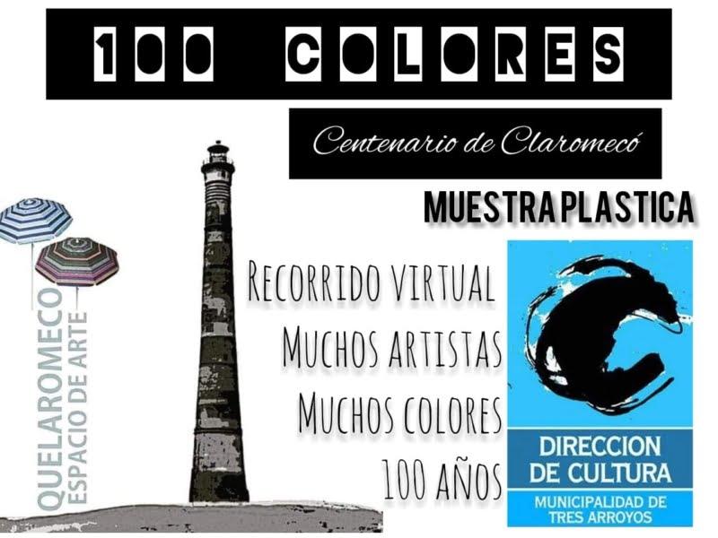 """Centenario de Claromecó: convocatoria muestra plástica virtual """"100 Colores"""""""