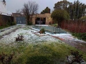 Abundante caída de granizo en Copetonas (Videos)