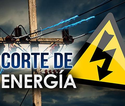 Interrupción en el servicio eléctrico en Cascallares