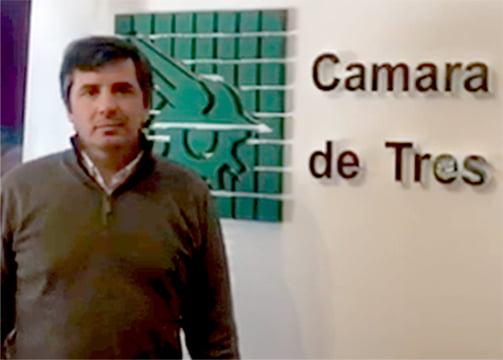 De Benedetto seguirá dos años más al frente de la Cámara Económica