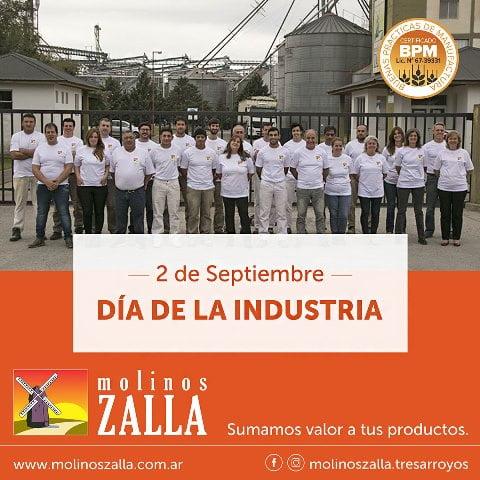 Molinos Zalla saluda en el Día de la Industria Nacional
