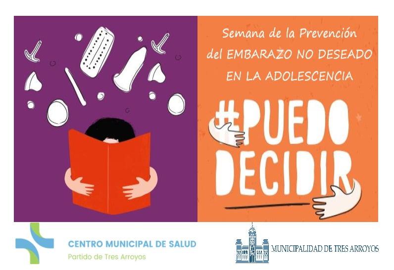 Semana de la prevención del embarazo no deseado en la adolescencia