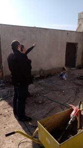 Concejales del MV visitaron obra de viviendas