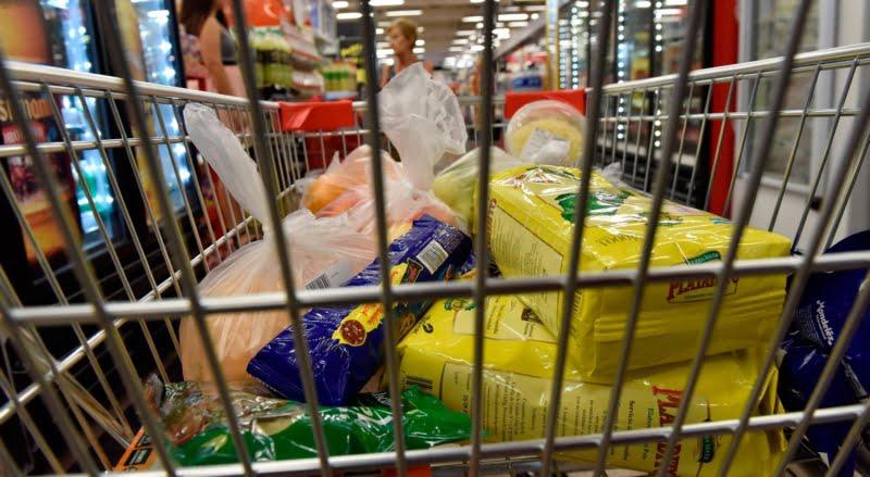 El costo de la canasta básica alimentaria aumentó el 2,6% en agosto