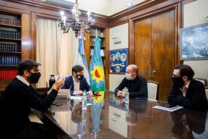 Kicillof y Simone firmaron convenios para obras de infraestructura en 37 municipios bonaerenses