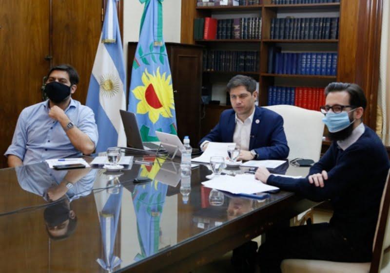 Gargaglione firmó el convenio con el Gobernador para construir un geriátrico