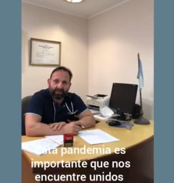 """Mensaje de los médicos: """"Seamos solidarios con pacientes de COVID 19"""" (video)"""