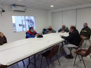 Sánchez visitó el Moto Club