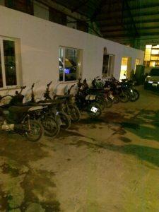 Secuestran diez motos y un auto en operativos de control vehicular