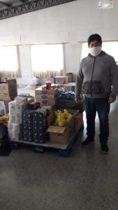 Unidos X Vos Tres Arroyos entregó donaciones