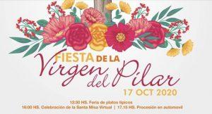 Celebración en honor a la Virgen del Pilar