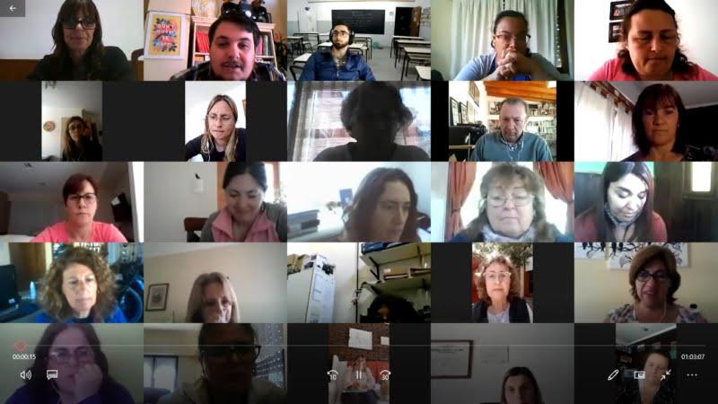 Se realizó el primer encuentro virtual de cooperadoras escolares de Tres Arroyos