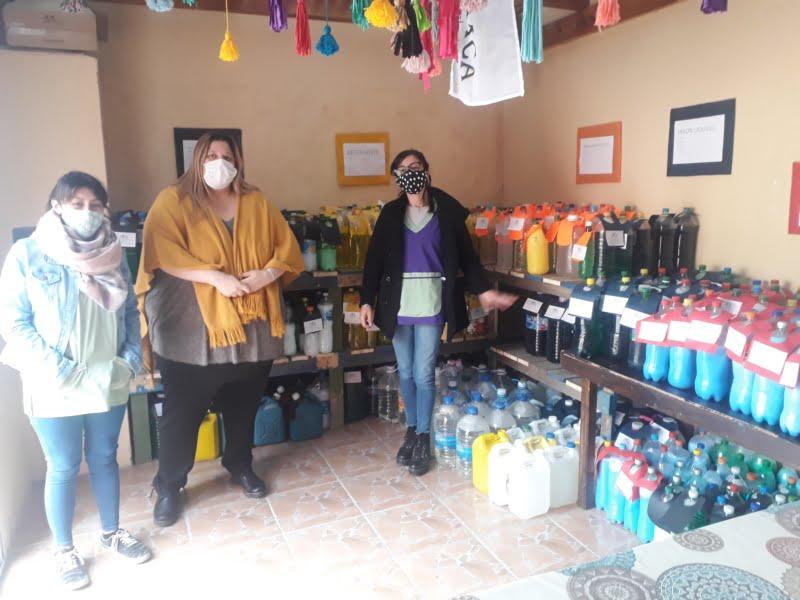 """""""Acompañándonos"""" incorpora venta de productos de limpieza a cargo de pacientes con patologías psiquiátricas"""