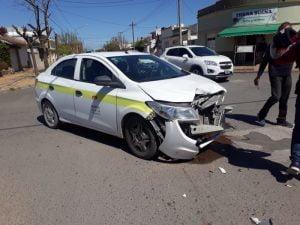 Daños materiales en accidente de tránsito