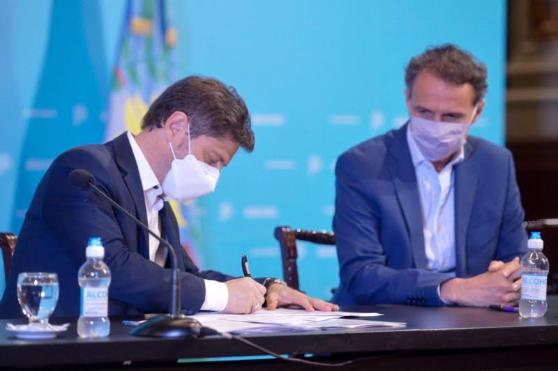 Provincia y Nación firmaron convenios para repavimentar y ensanchar las rutas 51 y 41