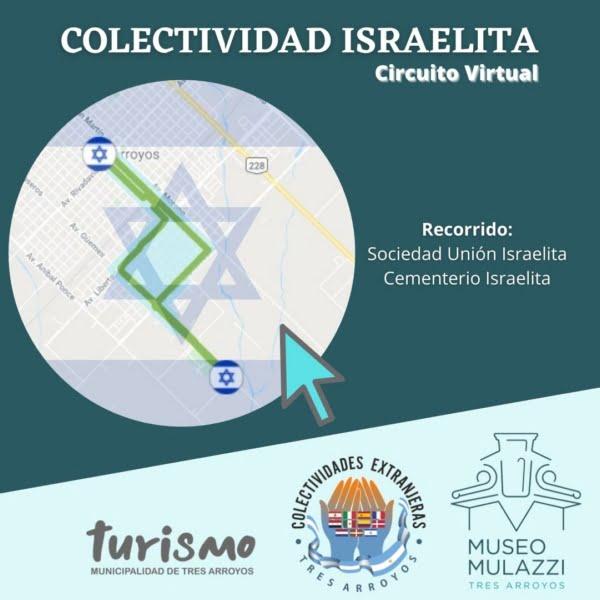 La Colectividad Israelita es protagonista en el cuarto circuito virtual que se lanza mañana