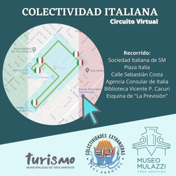 La Colectividad Italiana reflejada en el Circuito Virtual