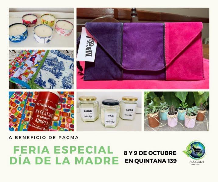Feria Especial Día de la Madre a beneficio de PACMA