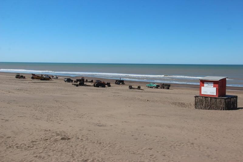Día espléndido en Claromecó