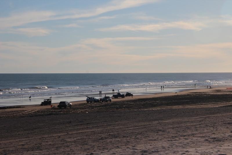 Bello día en Claromecó