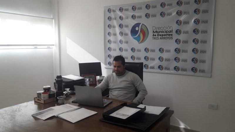 El Director de Deportes fue entrevistado desde Buenos Aires
