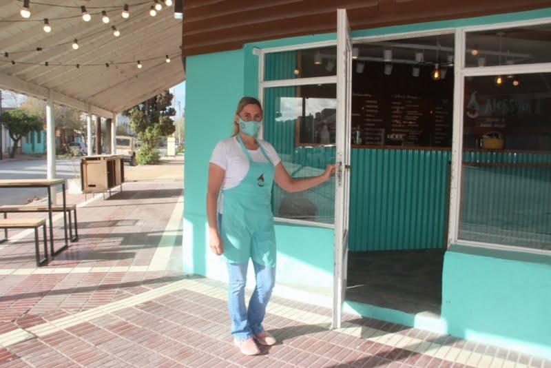 Heladería Nesser abrió sus puertas en Claromecó