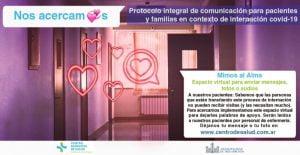Implementan protocolo de comunicación entre familiares y pacientes con Covid (Video)