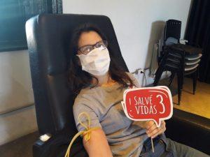 Agradecimiento de la peña de San Lorenzo por la segunda colecta de sangre